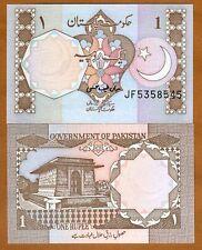 Pakistan, 1 Rupee, ND (1983-), Pick 27m, UNC