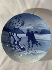1927 Bing & Grondahl 7.25 inches Christmas plate