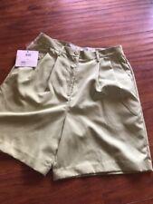 International Tour Club Izod Lime Green Shorts Size 10 Nwt
