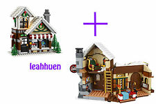 LEGO Christmas Santa's Workshop & Toy Shop Only (No minifigures)  10245 10249