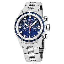 Certina Men's DS Blue Ribbon Blue Dial Stainless Steel Watch C0074171104100