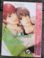 Only Serious About You Volume 2 by Asou Kai | English Yaoi Manga | June 2012