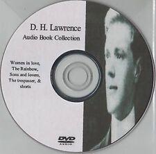 D H Lawrence 21 Audio Books Collection on MP3 DVD Trespasser Rainbow Women