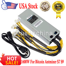 1600W BTC APW3++ PSU Mining Power Supply For Bitcoin BTC Antminer S7 S9 L3 D3 UA