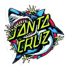 Santa cruz Skateboard/Surf Autocollant-Shark Dot Surf Skate Board Small