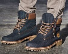 $225 Premium 6' Timberland White Oak Selvage Raw Denim Limited Boot wheat 13