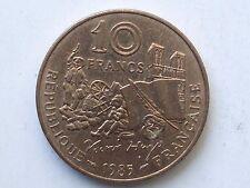 piece de 10 francs 1985 victor hugo