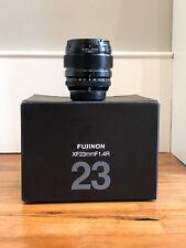 Fujifilm Fujinon Fuji XF 23mm F/1.4-16 Aspherical Lens