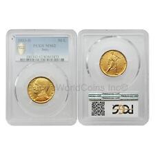 Italy 1933R Vittorio Emanuele III 50 Lire Gold PCGS MS62