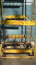 "ANTIQUE 1940""S  ROYAL CROWN  (RC) COLA  STORE DISPLAY BOTTLE RACK"