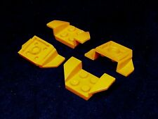 Lego Plate Car Mudguard 2x4 Swept [41854] - Orange x4