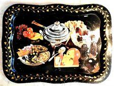 Vintage Mid-20th Century Coca Cola Metal Serving Tray - Party Food Design