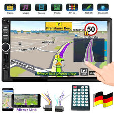 "Autoradio 7"" 2 Din Stereo Bluetooth MP3 MP5 Player USB AUX FM TF Touchscreen"
