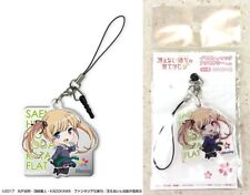 Saekano Acrylic Earphone Jack Accessory 2 Eriri Spencer Sawamura Chibi Chara New