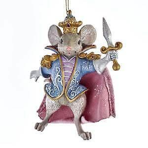 Nutcracker Suite Mouse King Ornament w