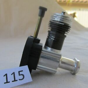Cox 049 Model Airplane Engine No115   + 10 New Cox Propellers