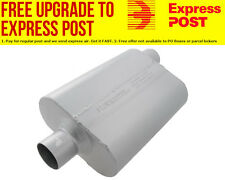 "Flowmaster 40 Series Delta Flow Muffler 2.5"" Center Inlet / Offset Outlet"