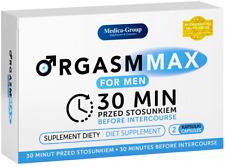 ORGASM MAX FOR MEN Kapseln 2 Sex Drive Pills for Men Male Potenz