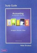 Study Guide for Accounting, Chapter 14-24 Managerial Chapters