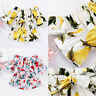 Toddler Kids Baby Girls Floral Belted Romper Jumpsuit Top Summer Outfits Clothes