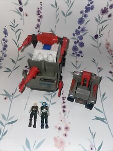 Starcom H A.R V 7. Heavy Armed Recovery Vehicle 1986 & Figures & Laser Rat
