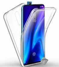 Housse etui coque gel 360 integrale Xiaomi Mi 9T Pro + film ecran - TRANSPARENT