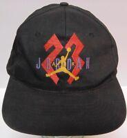 Vintage Late 1980s Early 1990s MICHAEL JORDAN AIR JORDAN NIKE SNAPBACK HAT CAP