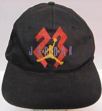 3aa40b07cc7 Vintage Late 1980s Early 1990s MICHAEL JORDAN AIR JORDAN NIKE SNAPBACK HAT  CAP