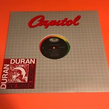 DURAN DURAN NEW MOON ON MONDAY US PROMO 12 SINGLE STICKER 1983