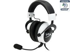 HyperX Cloud Stereo Gaming Headset for PC / PS4 / Mac / Mobile - White