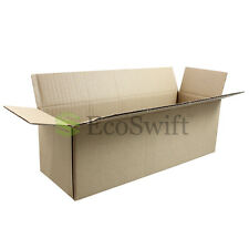 50 12x4x4 Cardboard Packing Mailing Moving Shipping Boxes Corrugated Box Cartons