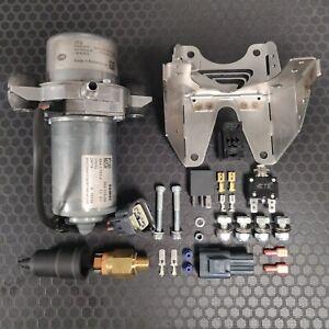 12V Vacuum Pump Kit, Brake Booster, Electric Vehicle, Hotrod