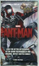 Antman The Movie Factory Sealed Pack Packet