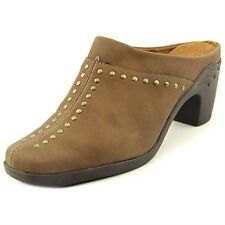 Aerosoles Mules Shoes Apple Sawce Clogs Mules Studded Taupe combo  6.5M