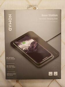 NOMAD Base Station Wireless Charging Dock Hub Edition - New