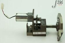 7811 VARIAN 12VDC EYQF-33300-641 MOTOR ON PRECISION STAGE E17079350