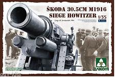 Obusier de siège SKODA 30,5cm M.1917- KIT TAKOM INTERNATIONAL 1/35 n° 2011
