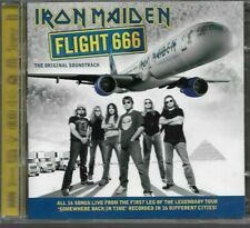 Iron Maiden - Flight 666 - CD 2 x discs - 2009 - UK FREEPOST