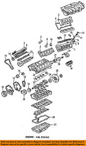 GM OEM-Engine Crankshaft Crank Main Bearing 89017563
