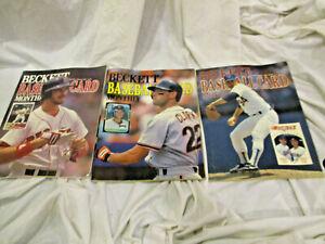 3 1989 Beckett Baseball Price Guide Ryan Clark Greenwell Gibson Banks McGriff