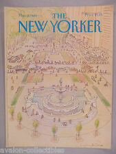 New Yorker Magazine - May 11, 1981 - FRONT COVER ONLY ~~ Eugene Mihaesco art