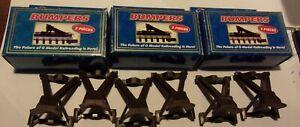 6 Atlas 3 Rail O Gauge Track Bumpers #6040 NIB