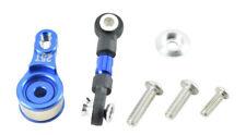 GPM Racing Traxxas 4-Tec 2.0 Blue Aluminum Servo Saver W/ Link GT16025TM-B