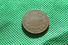 1870 Two Cent Shield Penny