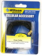 WILSON 951130 Amplifier to Antenna Coaxial Cable, SMA-Female to Male RG174 Cable