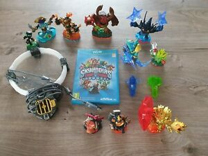 Jeu Skylanders Trap Team sur Wii U + 12 figurines