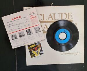 Très Rare Vinyle de KôKô - Le Naboul Twist - Premier 45 tours de Claude François