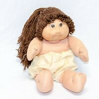 Vintage Brown Braided Cabbage Patch Kids Doll Xavier Roberts 1978,1982 Coleco