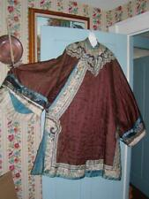 Antique PERIOD ASIAN JAPANESE KIMONO - Gentleman's Robe, Museum Deascessioned