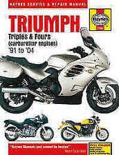 Triumph Motorcycle Manuals and Literature 2001 Year of Publication Repair